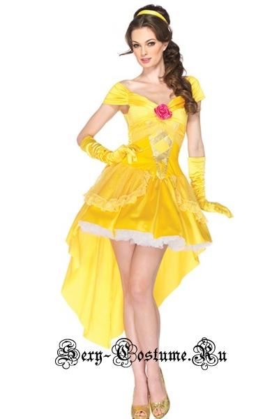 Принцесса в жёлтом летний образ m6558