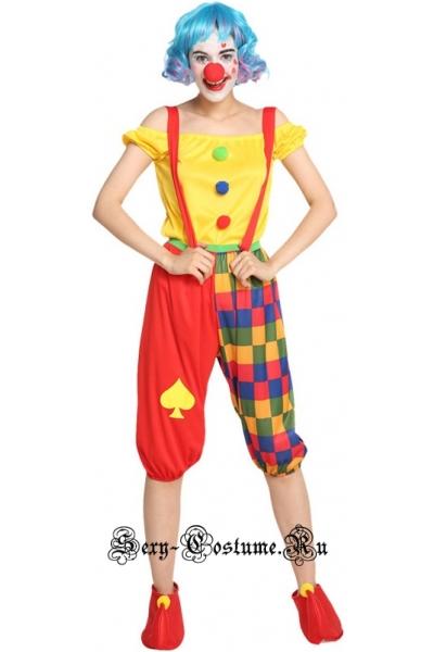 Веселый клоун скоморох w120083