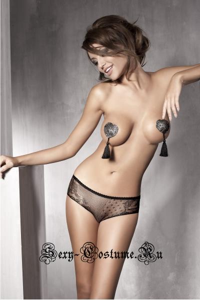 Трусики черный сексуальные anais iva