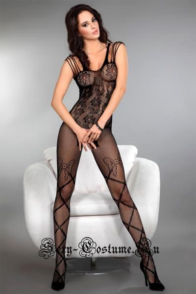 Цветочные мотивы bodystocking livia corsetti zoleen