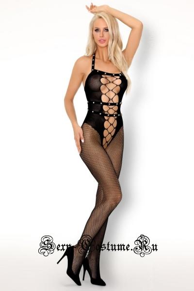 Капроновый комбинезон с  кнопочками livia corsetti sacnite