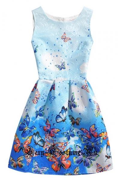 Платье в стиле 50хпринцесса весны m15487