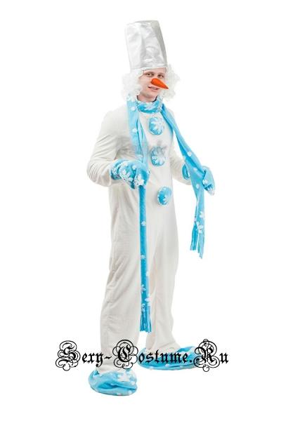 Снеговик помощник деда мороза батик sl1305