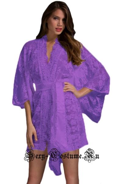 Халатик фиолетовый романтик n21998-4