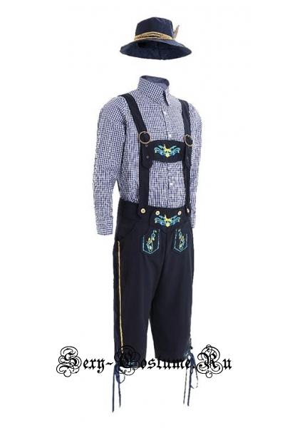 Мужской костюм баварец на октоберфест m14603