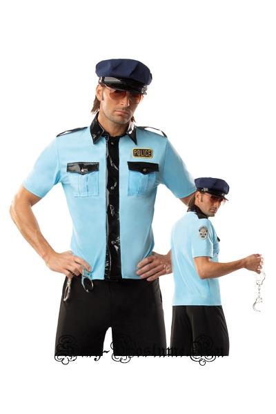 Костюм полицеского (коп) китай d1799