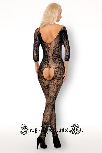 Капроновый комбинезон украшен жемчугом livia corsetti fainam