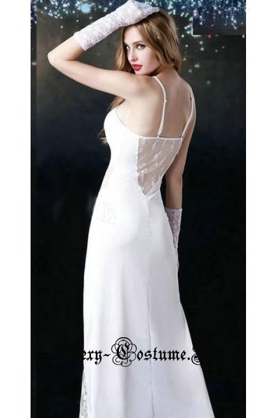 Невеста длинная ночная сорочка nightks lu6059