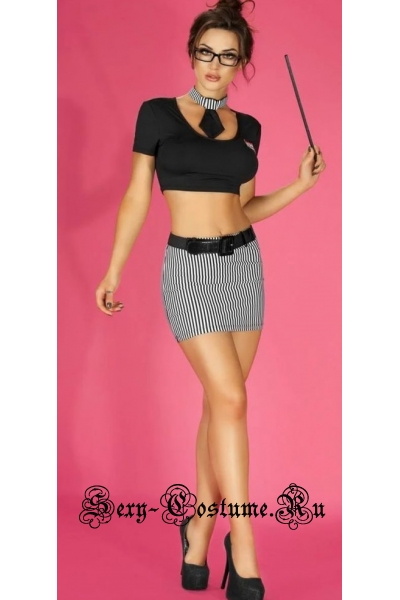Секретарша учительница секси chilirose 3605 costume of the teacher