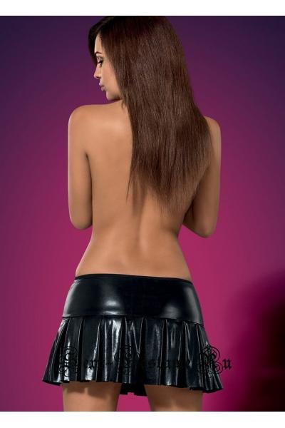 Юбка черная obsessive darksy skirt