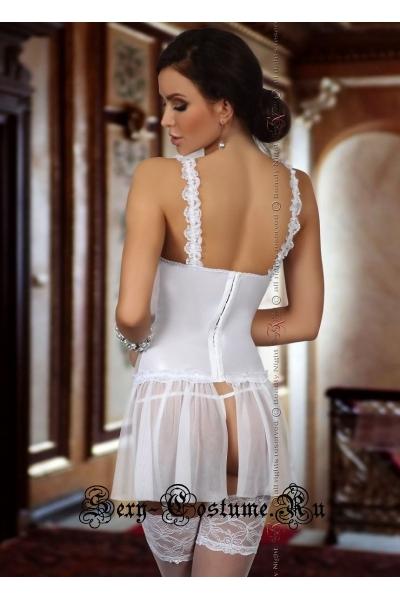 Комплект белья белый невеста beauty night dorothy