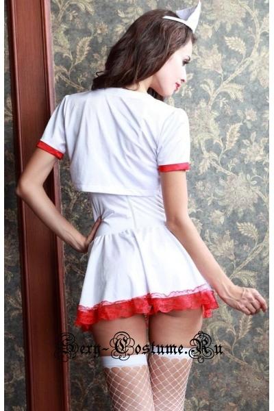 Медсестра мечта больного + чулки + стетоскоп nightks lu1050