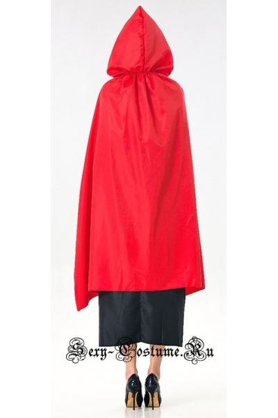 Красная шапочка длинное платье m17167