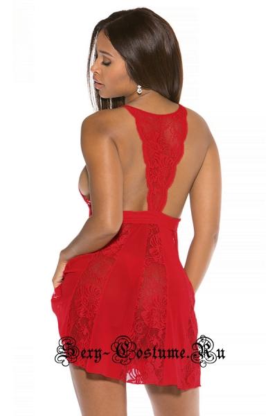 Сорочка красная набор для обольщения n31090