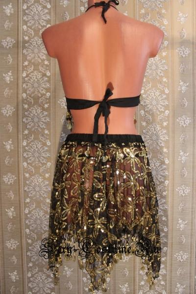 Восточная танцовщица черная китай lu800-4