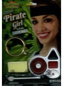 Театральный аквагрим пиратка 4е цвета