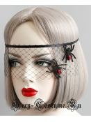 Сеточка на голову для симпатичной ведьмочки