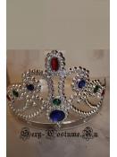 диадема пластик королева