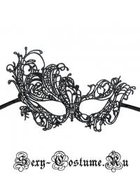ЧЕРНАЯ ТКАНЕВАЯ МАСКА НА ЛИЦО арт.Китай M11881