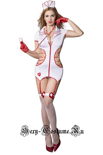 Медсестра милашка + чулки + стетоскоп nightks lu9701