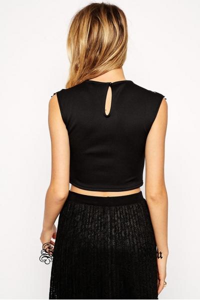 Черное платье кофта + юбочка d60233