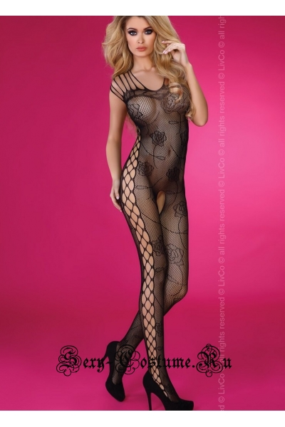 Bodystocking с  цветовой перфорацией livia corsetti althina