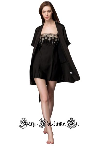 Комплект халатик + сорочка ночи n5214