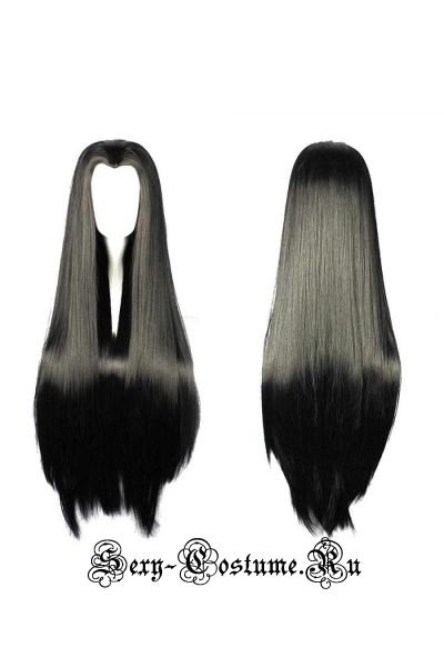 Парик прямые волосы черный s32085