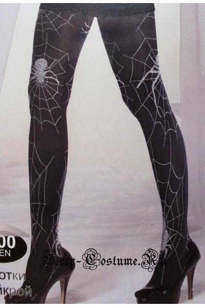 Колготки с паутинкой