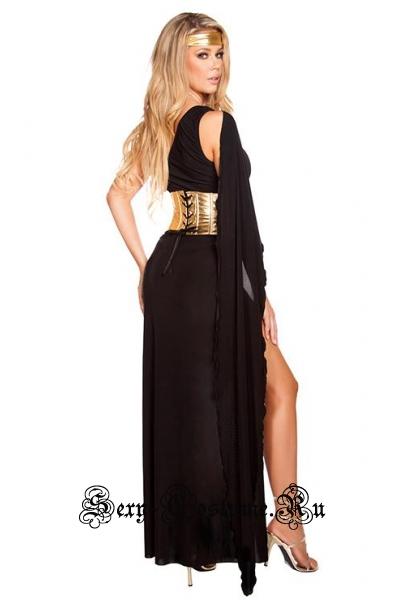 Греческая принцессачерная воительница m1198-7