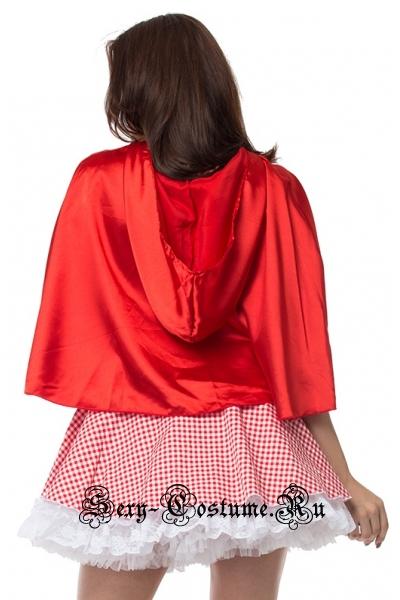 Красная шапочка красно-белый камуфляж m1848-2