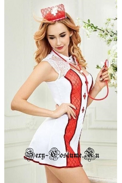 Строгая медсестра + стетоскоп nightks lu6310