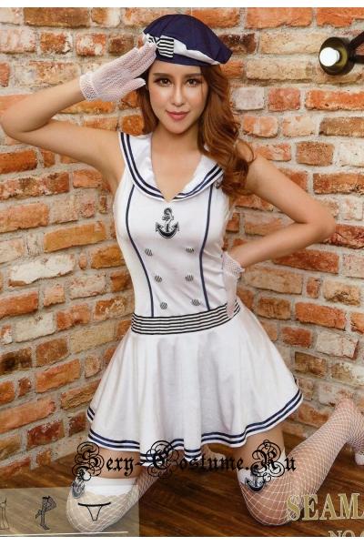Морячка белая красотка nightks lu6262