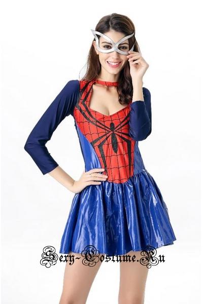 Человек паук спасительница города m1682