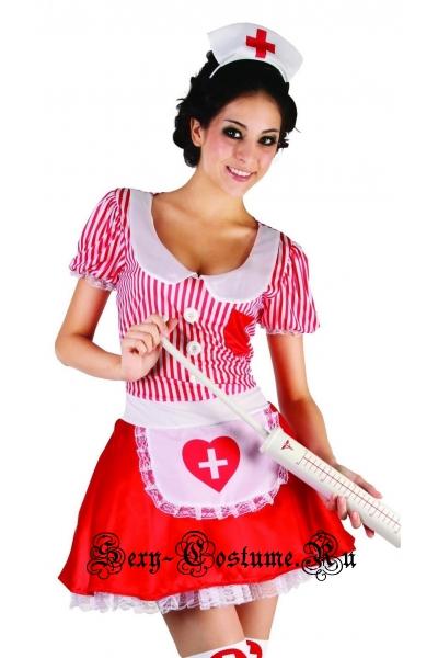 Медсестра белая и красная вертикальная полоска Россия sl37830