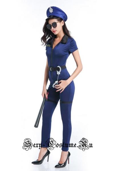 Полицейский синий комбинезон p40332