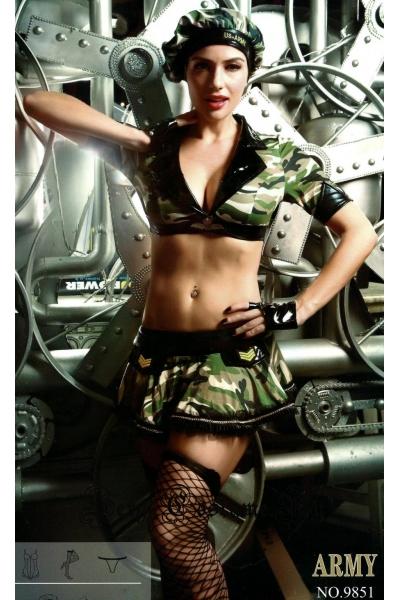 Сексуальный военный в камуфляже nightks lu9851