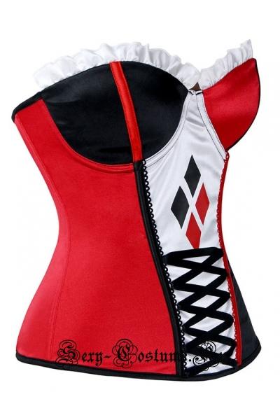 Червовая королева корсет красный m1612