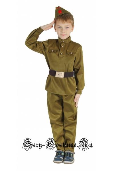 Солдат форма военнослужащего вов детский sl7935