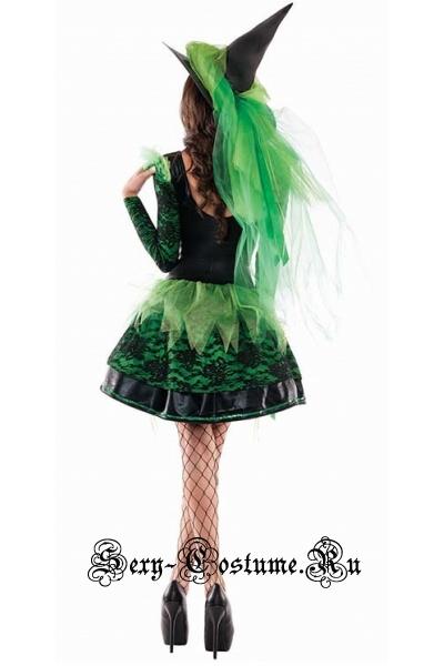Ведьма красивая фея весны зелени m14748