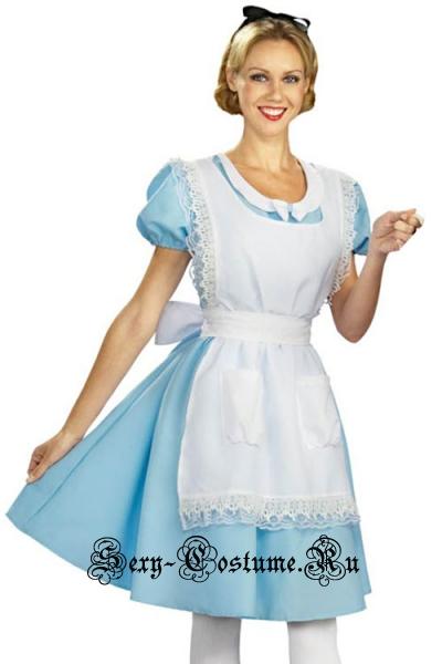 Алиса в стране чудес длинное платье m16123