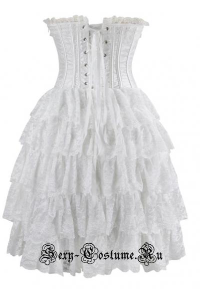 Корсетное платье m14689