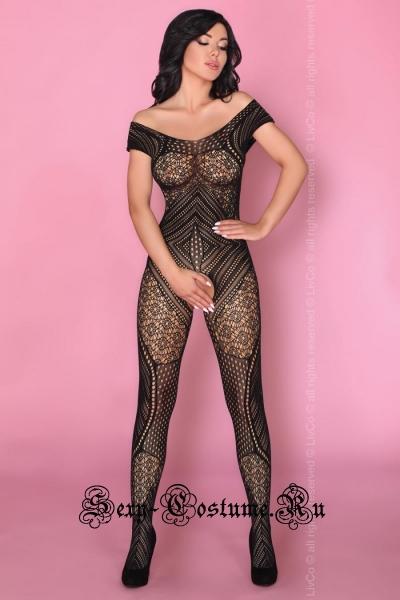 Чулок на тело футуристический рисунок livia corsetti kerenza