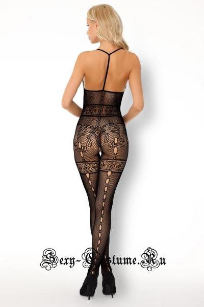 Боди-комбинезон в мелкую сеточку livia corsetti serminsa