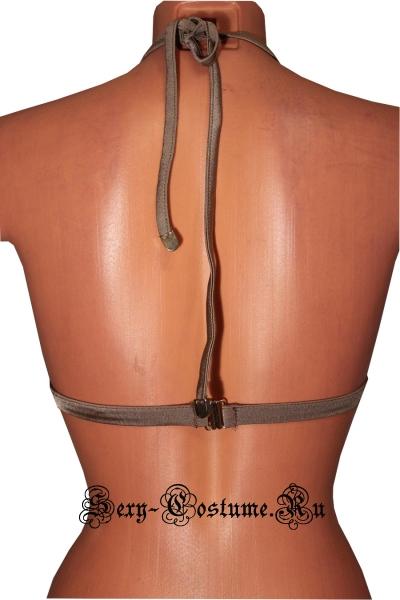 Лиф от купальника коричневый плотный mu9501