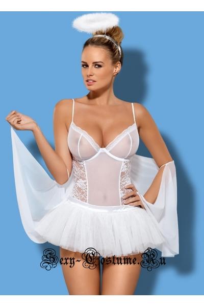 Белый ангел романтического вечера obsessive swangel set