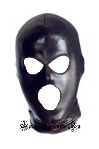 Виниловая маска черная w0947