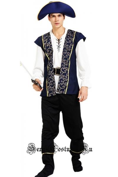 Пират разбойничьей шхуны w005