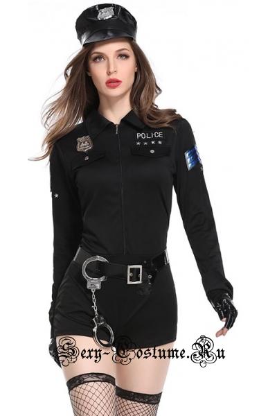 Полицейский звезда подиума w8823