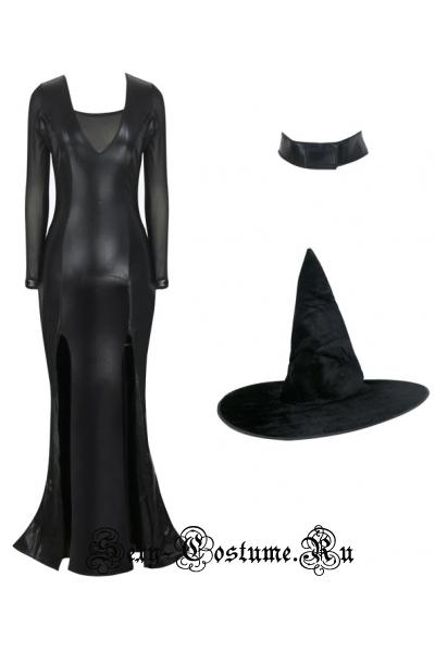 Виниловая ведьмочка черная ведьма m17940